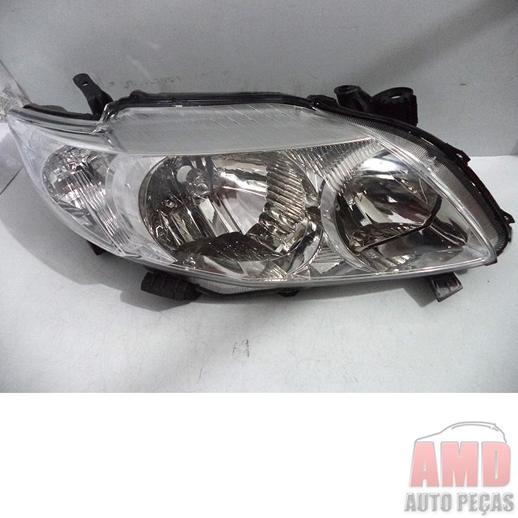 Farol Corolla 08 a 11  - Amd Auto Pe�as