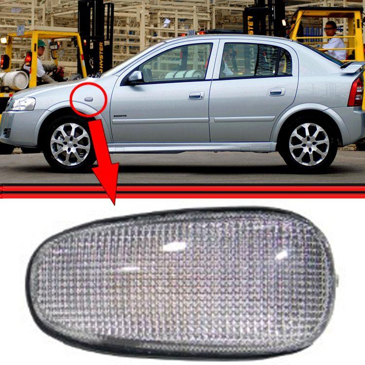 Lanterna Seta Pisca Paralama Astra Hatch Sedan 99 a 11 Cristal  - Amd Auto Peças