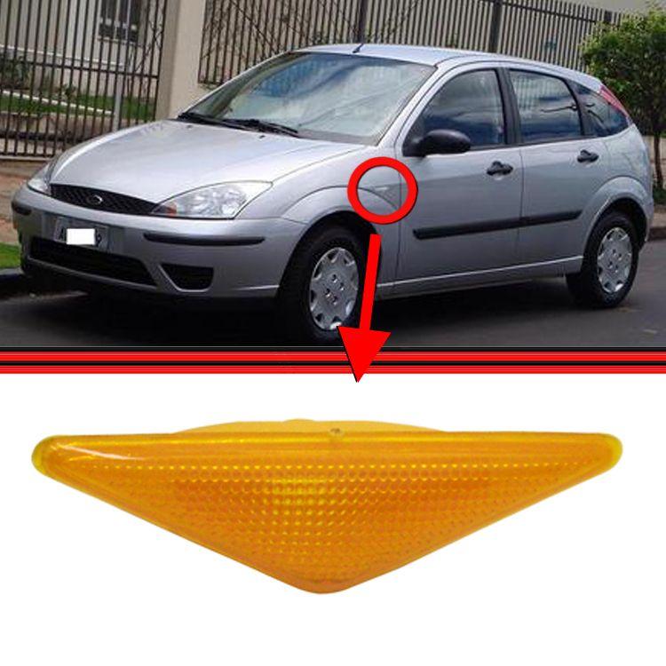 Lanterna Paralama Pisca Seta Focus Hatch Sedan Amarelo   - Amd Auto Peças