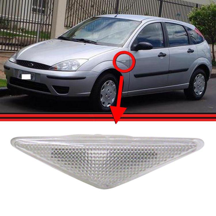 Lanterna Paralama Pisca Seta Focus Hatch Sedan Cristal  - Amd Auto Peças