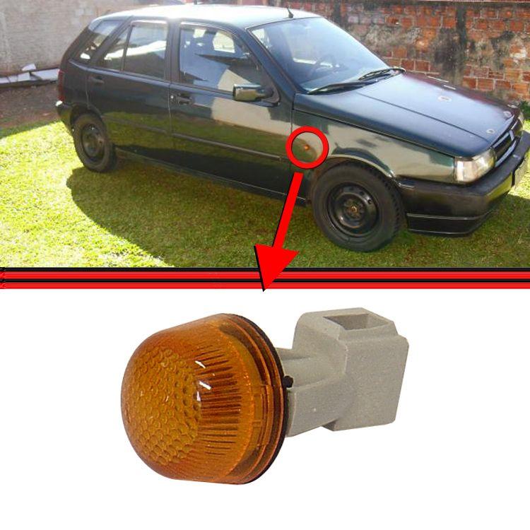 Lanterna Paralama Pisca Seta Tipo 93 a 97 Amarela  - Amd Auto Pe�as