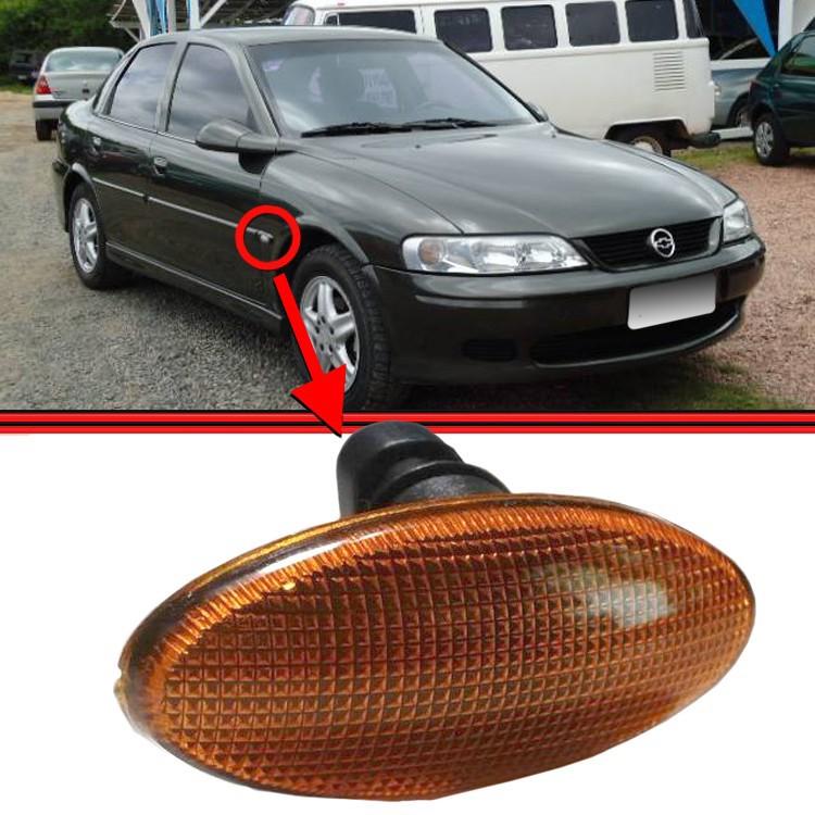 Lanterna Paralama Pisca Seta Vectra 97 a 06 Amarela  - Amd Auto Pe�as