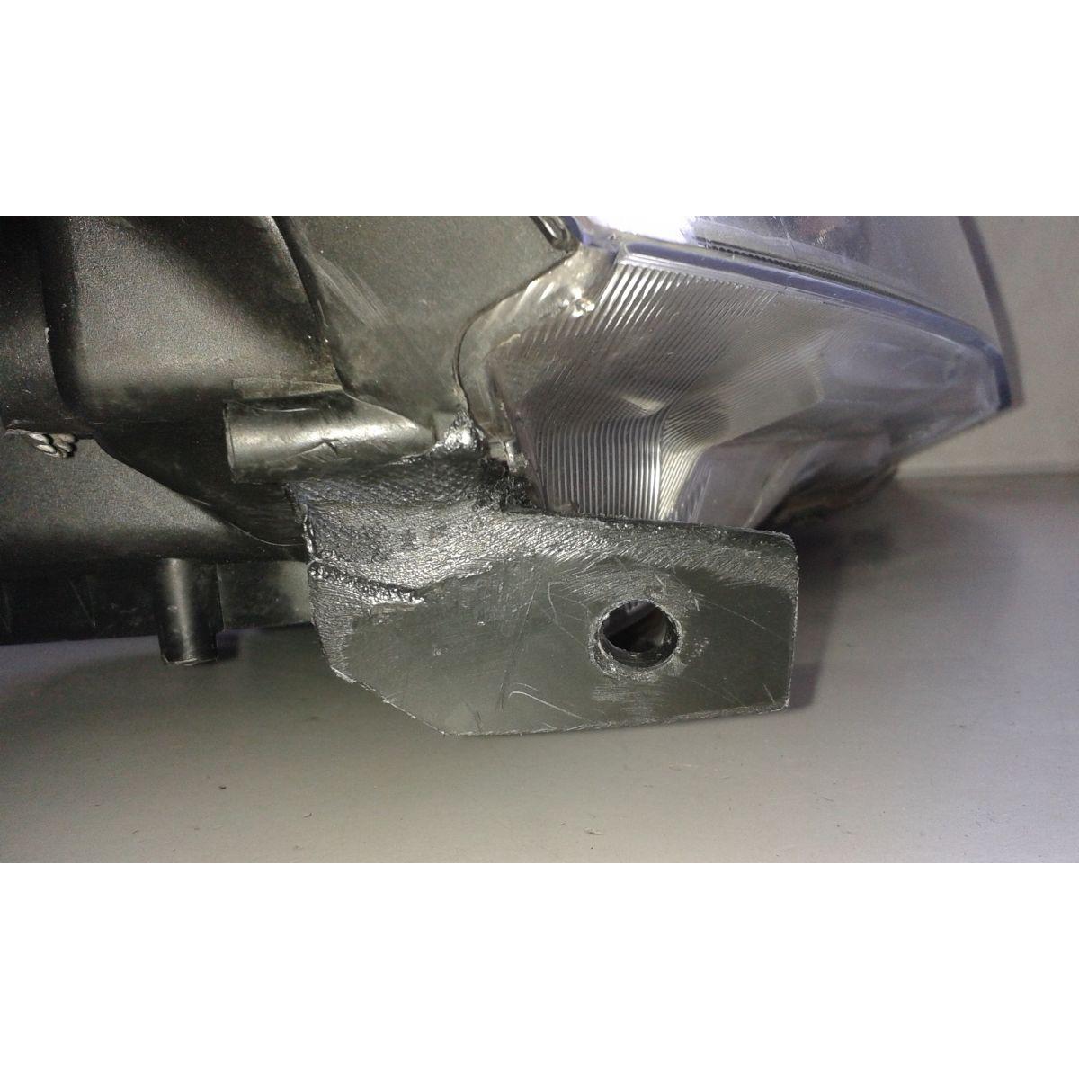 Farol Honda CRV Cromo  - Amd Auto Peças