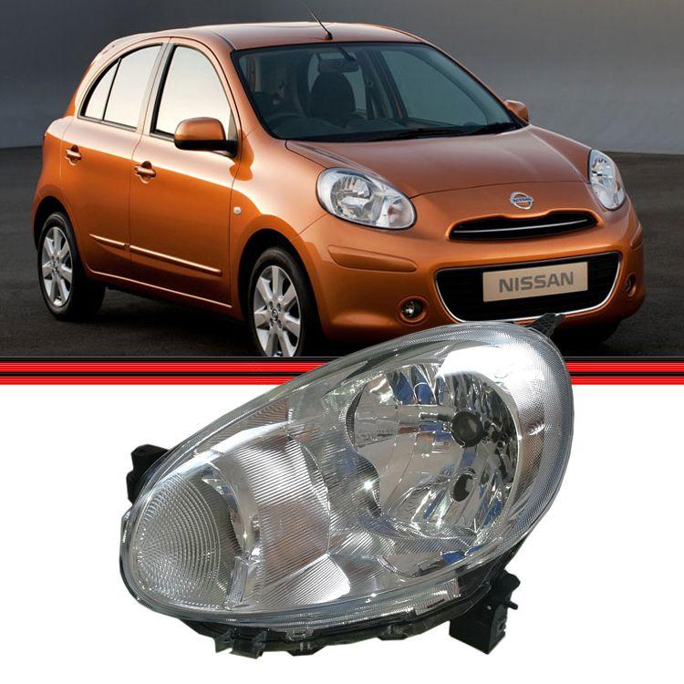Farol Nissan March 11 a 13  - Amd Auto Pe�as