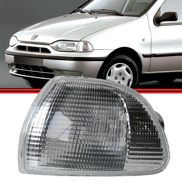 Lanterna Dianteira Palio Siena Strada Weekend 96 a 01 Cristal  - Amd Auto Pe�as