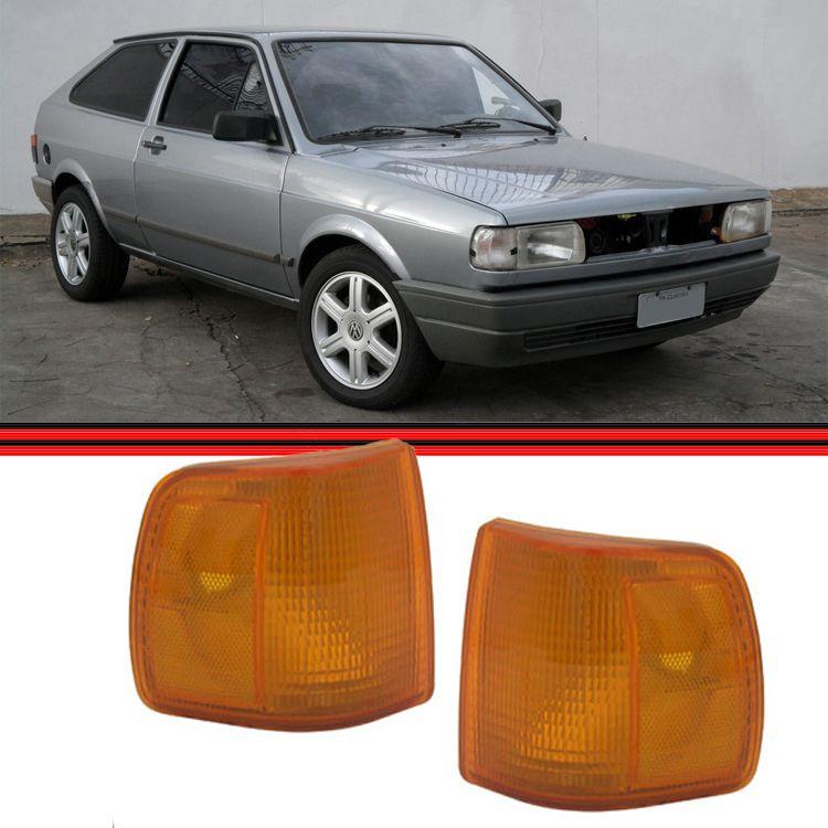 Lanterna Dianteira Gol Parati Saveiro 91 á 95 Amarela  - Amd Auto Peças