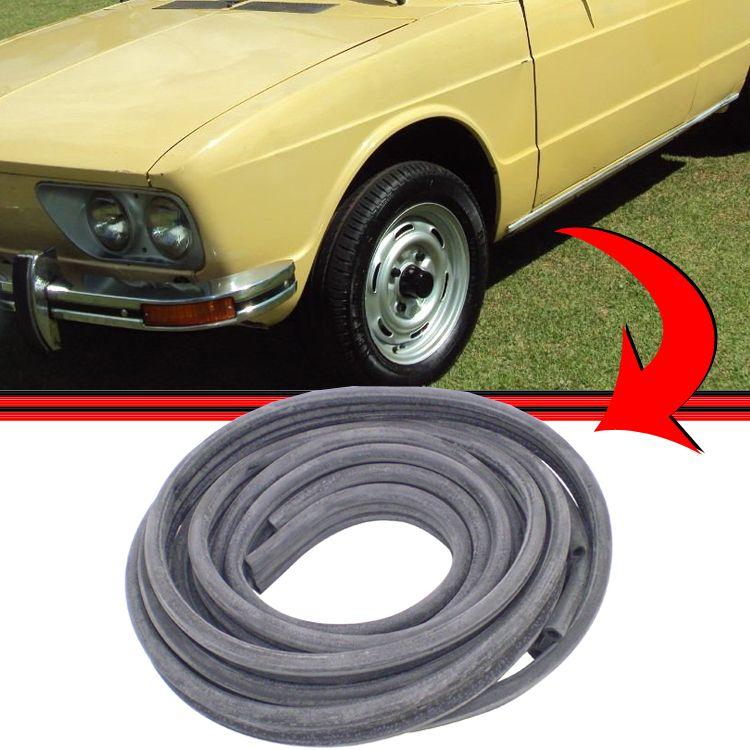 Borracha Chassis Assoalho Veda��o Brasilia Variant  - Amd Auto Pe�as