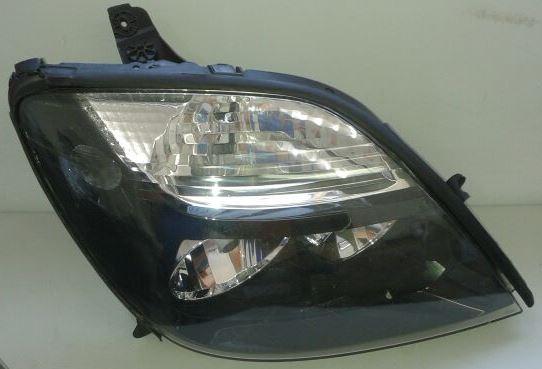 Farol Renault Scenic Máscara Negra Lado Direito  - Amd Auto Peças