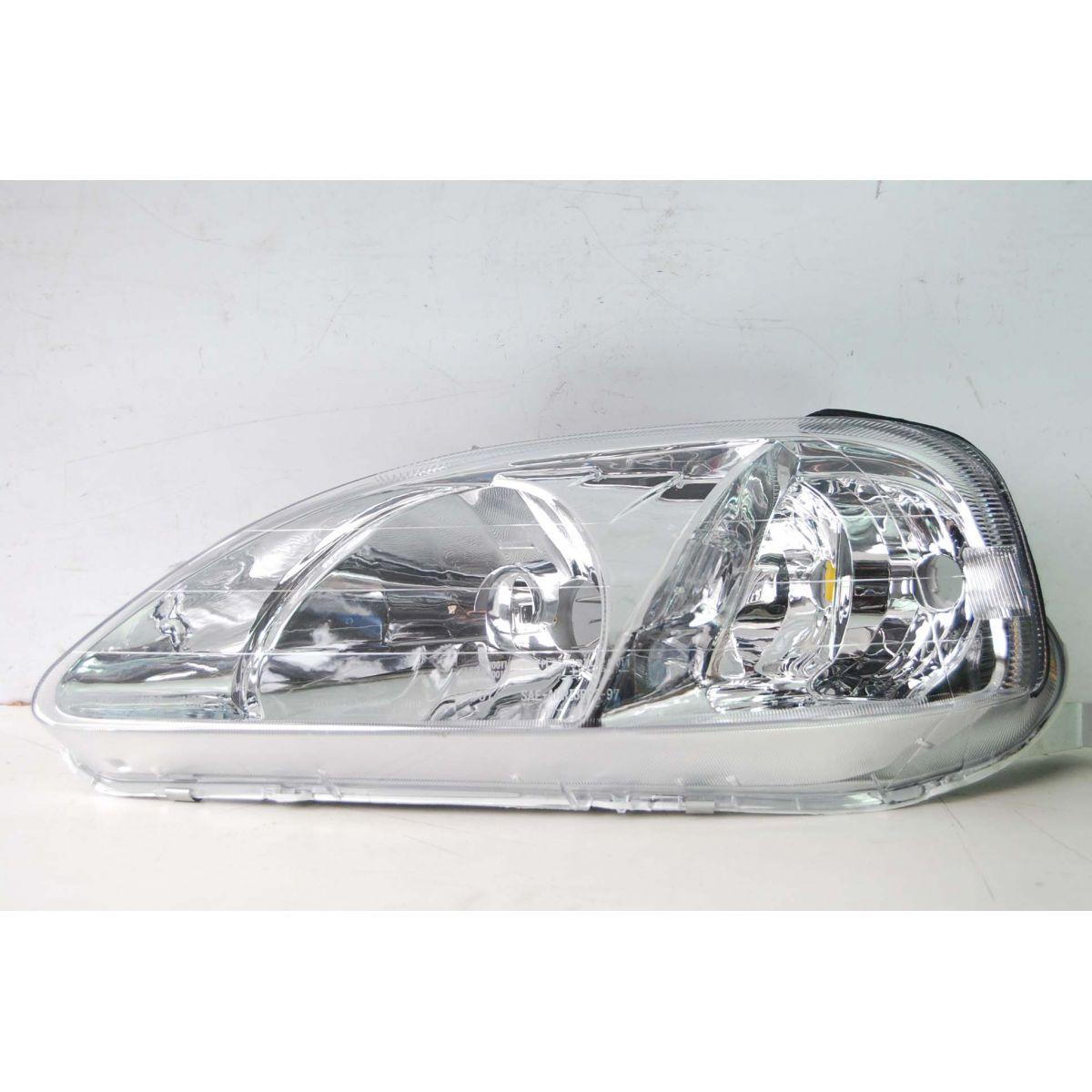 Farol Honda Civic 98 a 00 Novo  - Amd Auto Pe�as