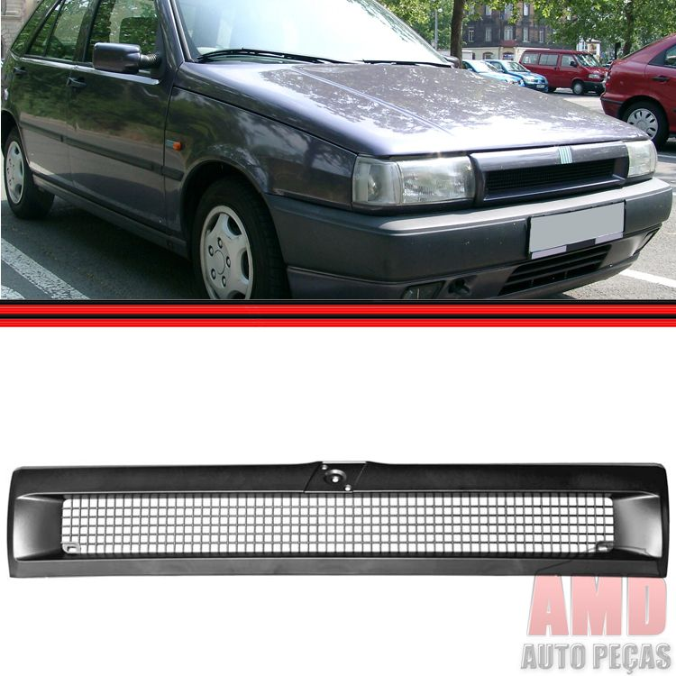 Grade Dianteira Radiador Tipo 93 a 97 Preta  - Amd Auto Pe�as
