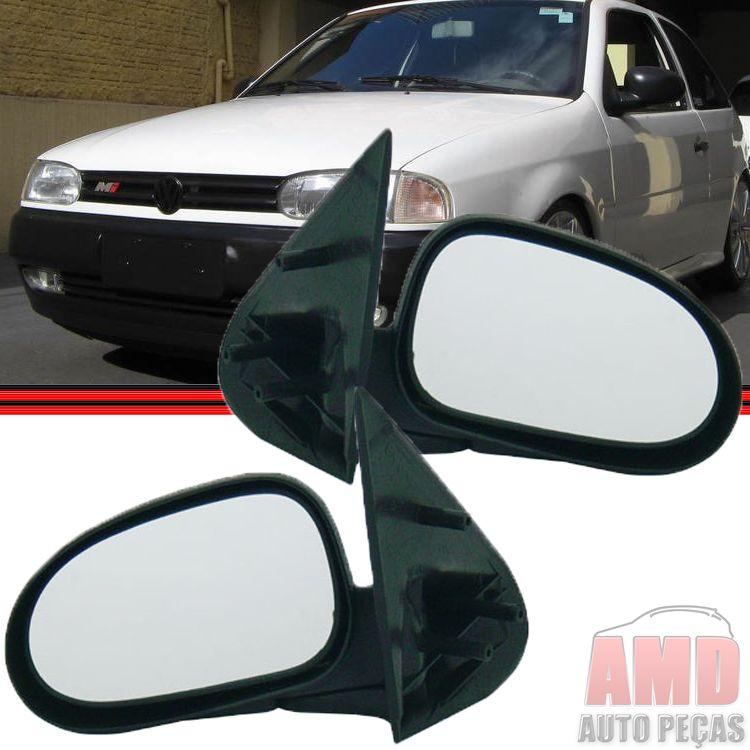 Retrovisor Espelho Gol Parati Saveiro Bola GII G2 2 Portas Sem Controle  - Amd Auto Peças