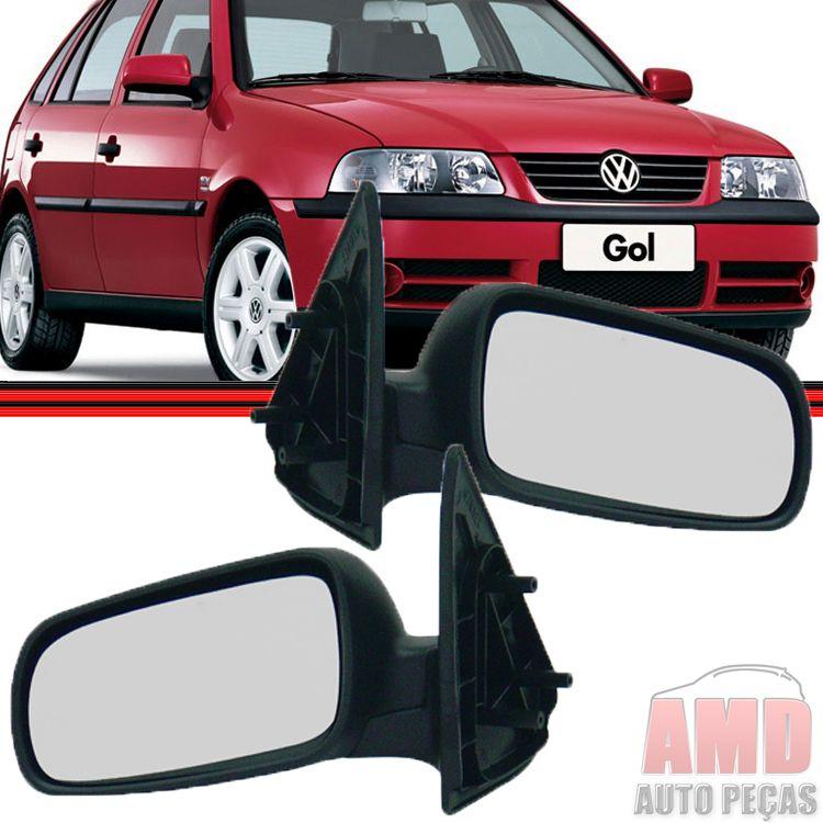 Retrovisor Espelho Gol Parati Saveiro GIII G3 4 Portas Sem Controle  - Amd Auto Peças