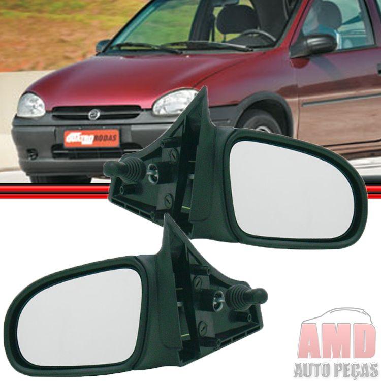 Retrovisor Espelho Corsa Pick-up Sedan Hatch Wind 94 á 10 Com Controle  - Amd Auto Peças