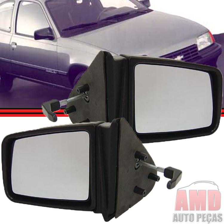 Retrovisor Espelho Kadett Ipanema 89 á 98 Com Controle  - Amd Auto Peças