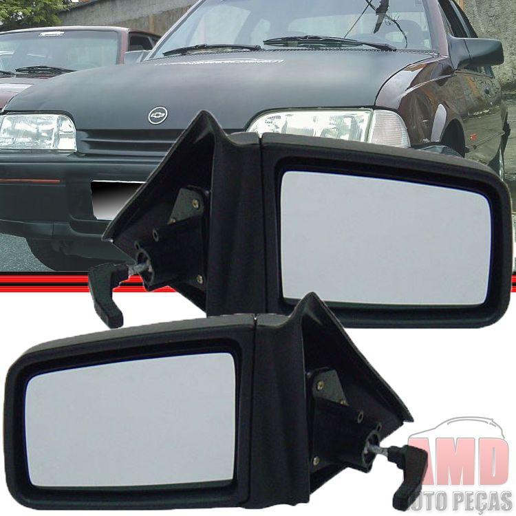 Retrovisor Espelho Monza 94 a 96 Com Controle  - Amd Auto Peças