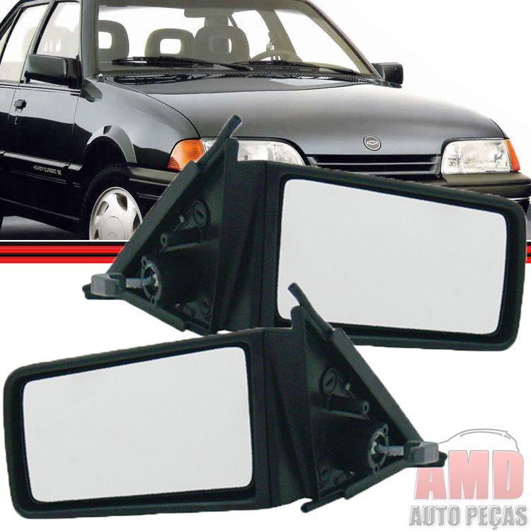 Retrovisor Espelho Monza 91 á 93 Com Controle  - Amd Auto Peças
