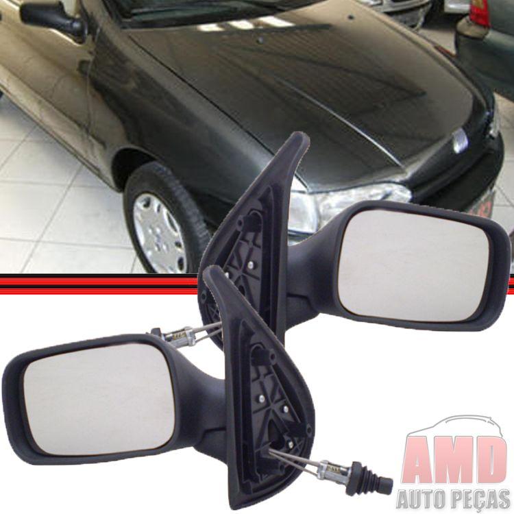 Retrovisor Espelho Palio Siena Strada Weekend 96 A 00 2 Portas Com Controle  - Amd Auto Peças