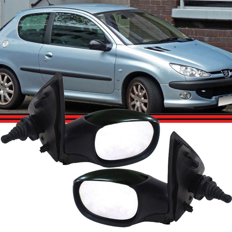 Retrovisor Espelho Peugeot Scapage 206 99 a 10 207 80 a 14 Com Controle  - Amd Auto Peças
