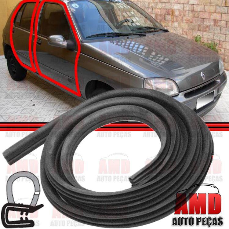 Borracha Porta Clio Megane Renault 19 Kangoo Sportage  - Amd Auto Peças
