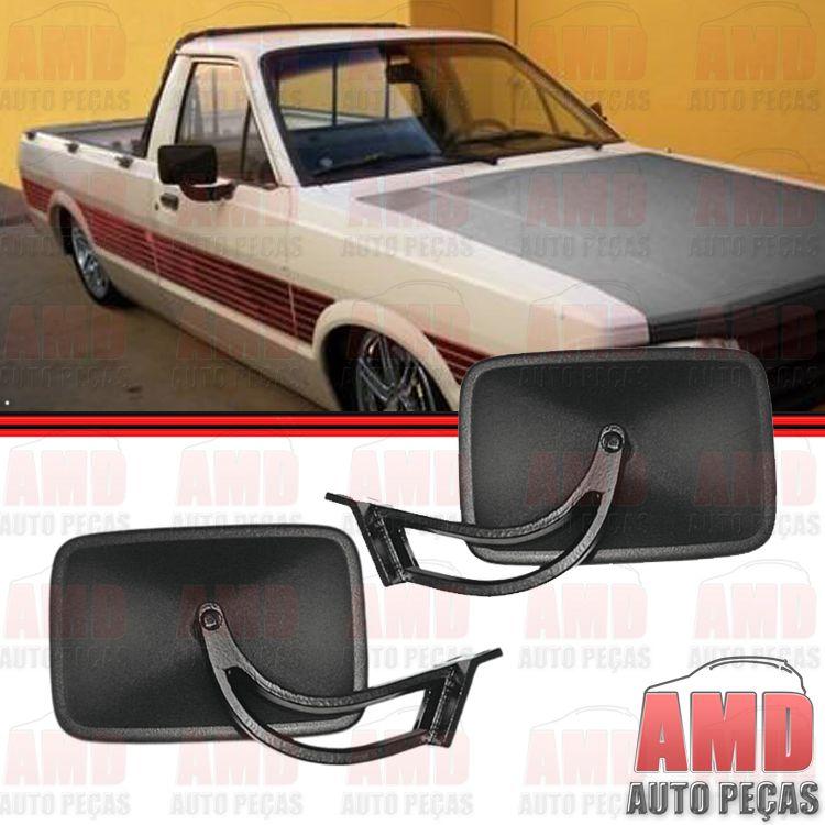 Retrovisor Espelho Pampa 84 a 90 Braço Fixo Reversível  - Amd Auto Peças