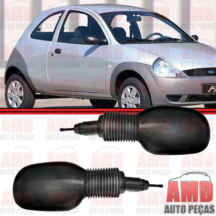 Retrovisor Espelho Ford KA 97 a 08 Com Controle  - Amd Auto Peças