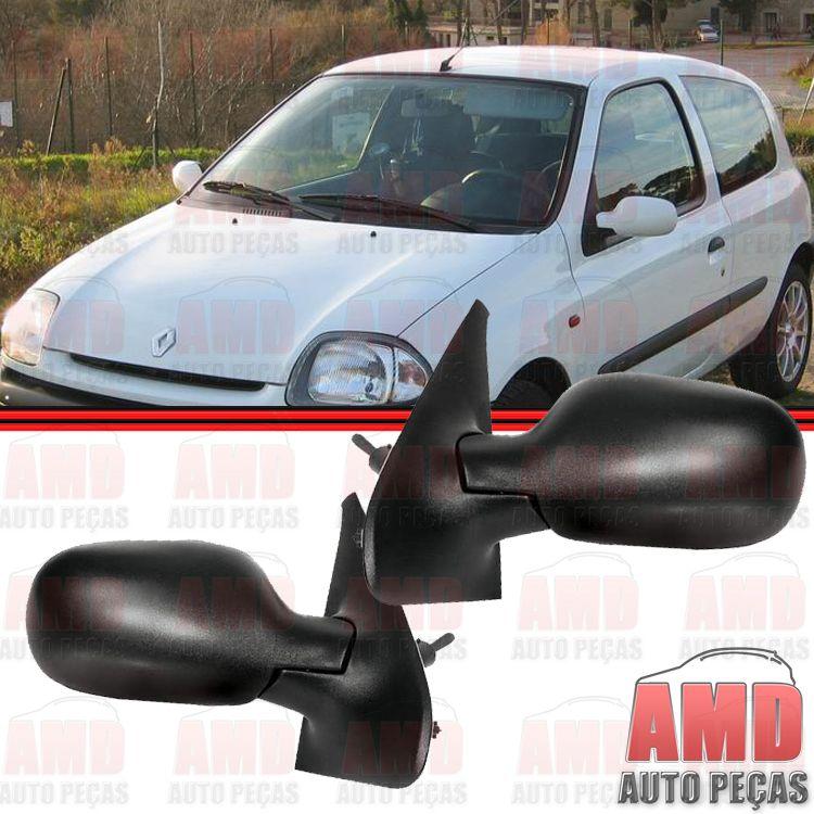 Retrovisor Espelho Renault Clio 00 a 11 Com Controle  - Amd Auto Peças