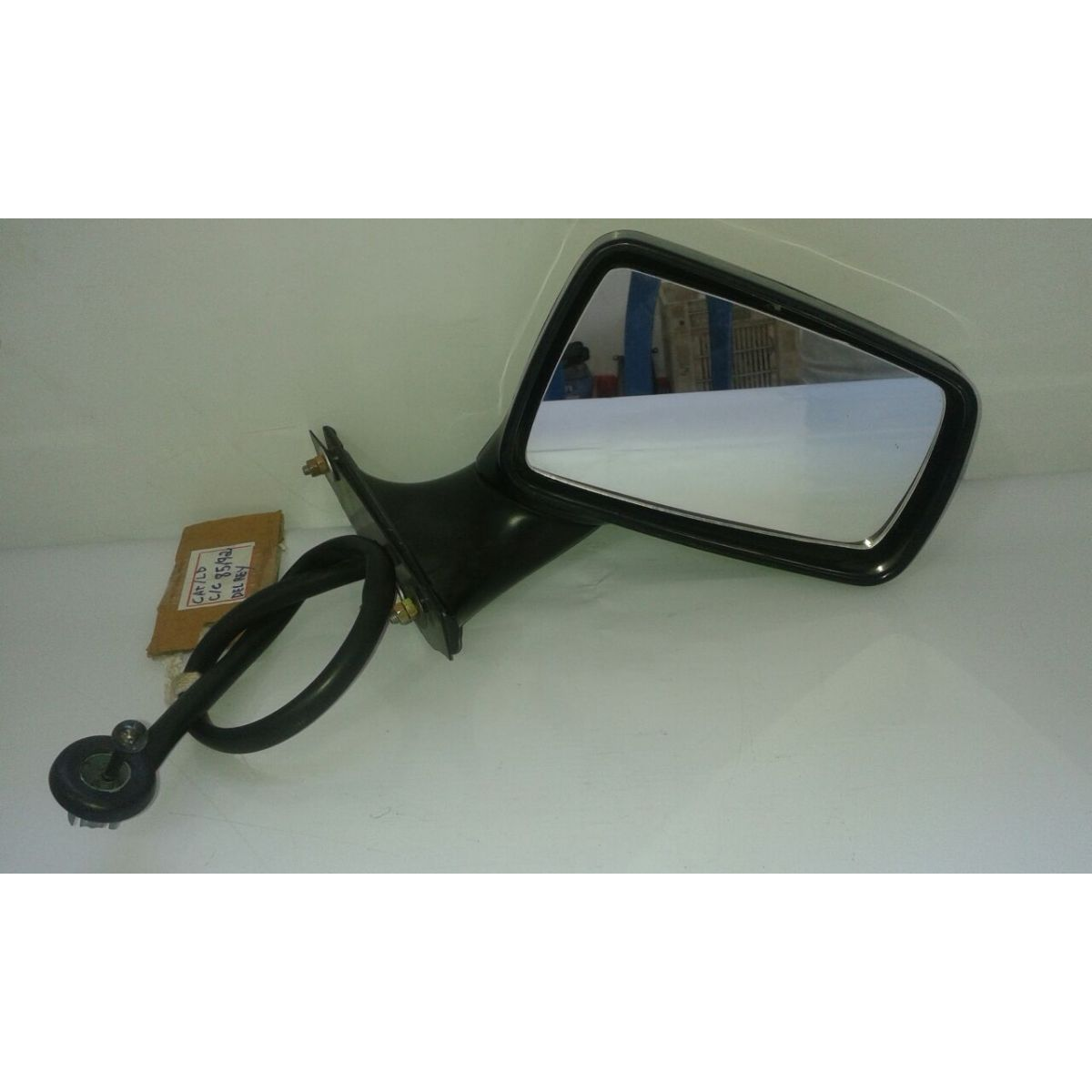 Retrovisor Espelho Del Rey Belina Scala Pampa 85 a 92 Com Controle  - Amd Auto Pe�as