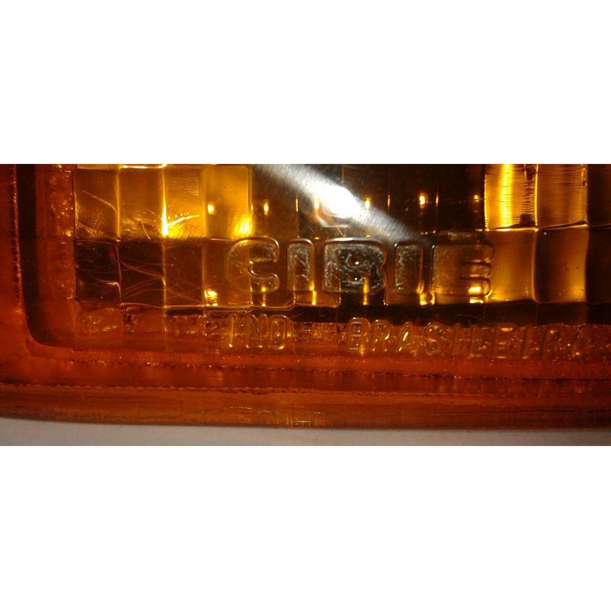 Lanterna Pisca Dianteiro Monza Tubar�o 91 a 96 Amarela  - Amd Auto Pe�as