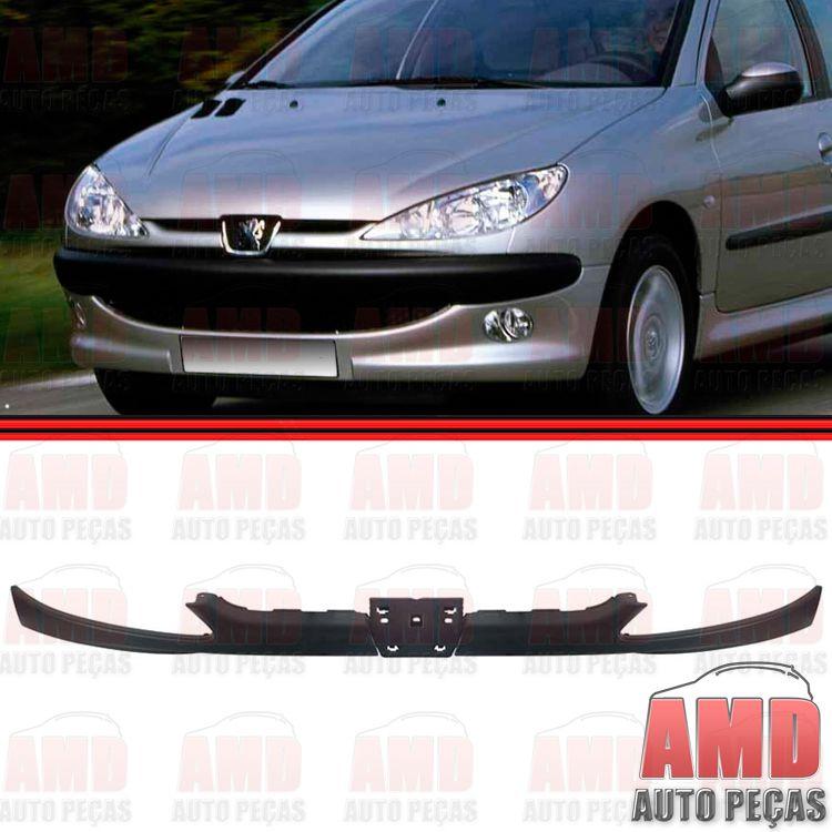 Moldura Grade Inferior Dianteira Peugeot 206  - Amd Auto Peças