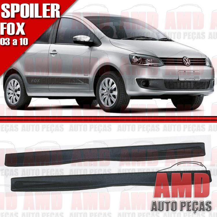 Par Spoiler Lateral Fox 03 a 10 4 Portas Sem Tela  - Amd Auto Peças