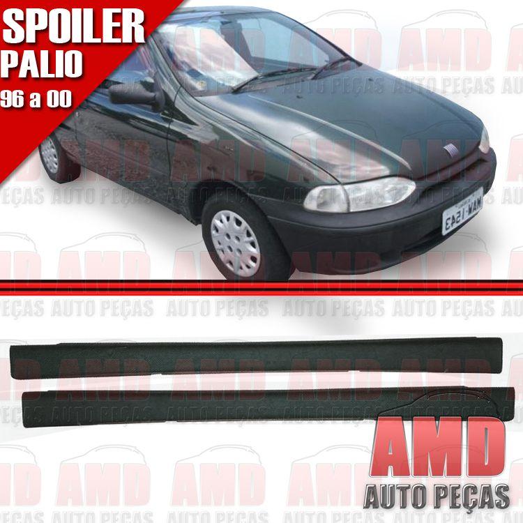 Par Spoiler Lateral Palio 96 � 00 2 Portas Sem Tela  - Amd Auto Pe�as