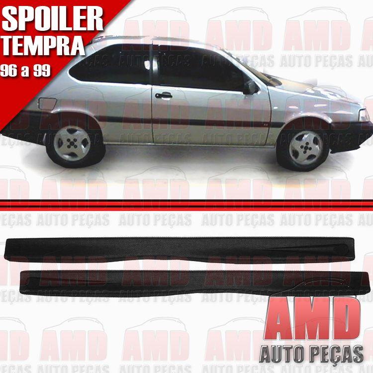 Par Spoiler Lateral Tipo Tempra 2 Portas 96 á 99 com Tela  - Amd Auto Peças
