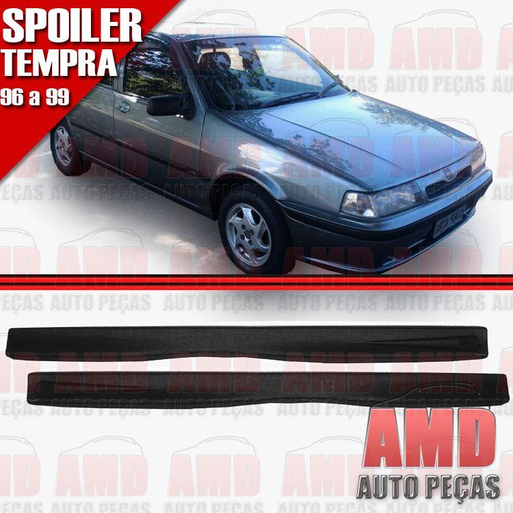 Par Spoiler Lateral Tipo Tempra 4 Portas 96 a 99 com Tela  - Amd Auto Peças