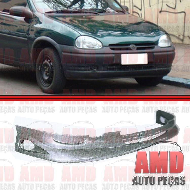 Spoiler Dianteiro Corsa 93 á 99 com 3 Telas  - Amd Auto Peças