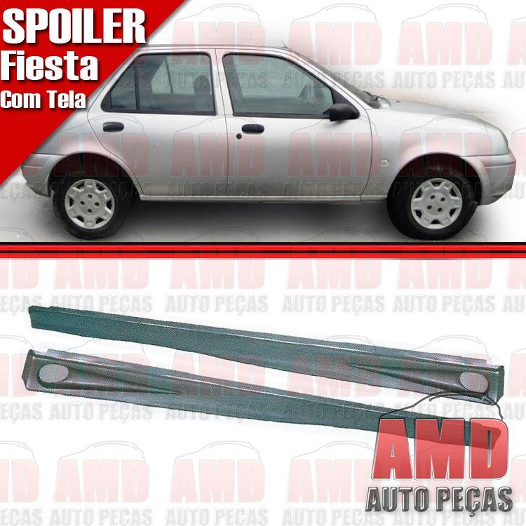 Par Spoiler Lateral Fiesta 01 a 03 Street 2 e 4 Portas  - Amd Auto Peças