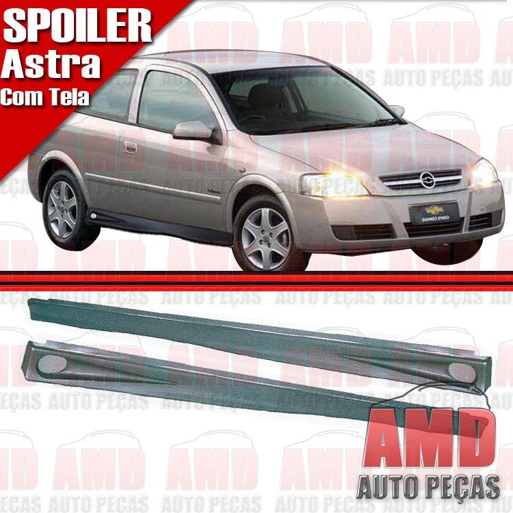 Par Spoiler Lateral Astra 99 a 04 2 Portas Com Tela  - Amd Auto Pe�as