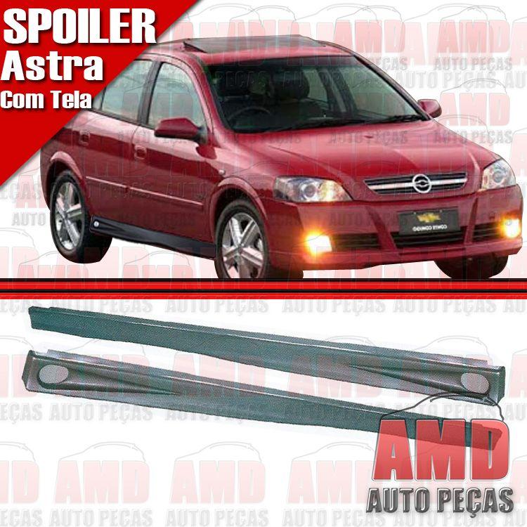 Par Spoiler Lateral Astra Hatch Sedan 4 Portas 99 a 11 Com Tela  - Amd Auto Peças