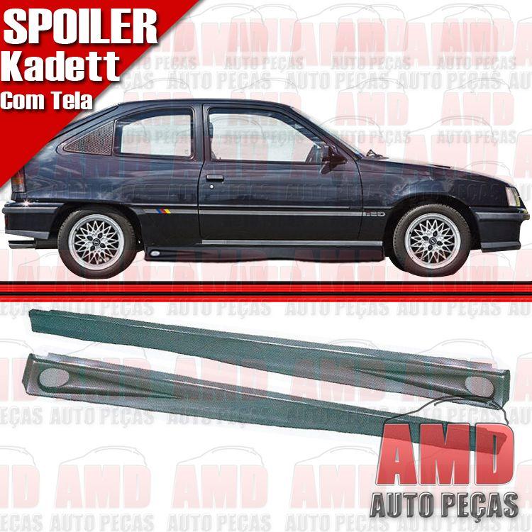 Par Spoiler Lateral kadett 89 � 98 com tela  - Amd Auto Pe�as