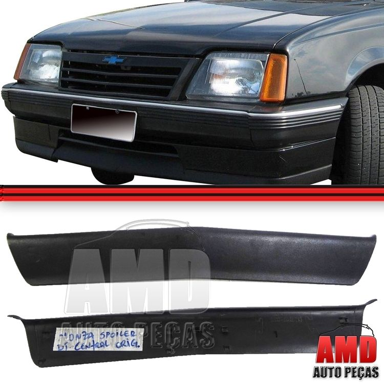Moldura Spoiler Dianteiro Central Monza 88 A 90 (52281287)  - Amd Auto Pe�as