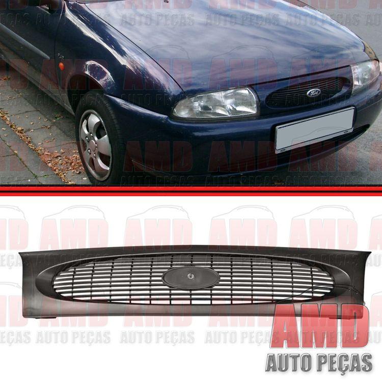 Grade Dianteira Radiador Fiesta Courier 96 a 99  - Amd Auto Peças
