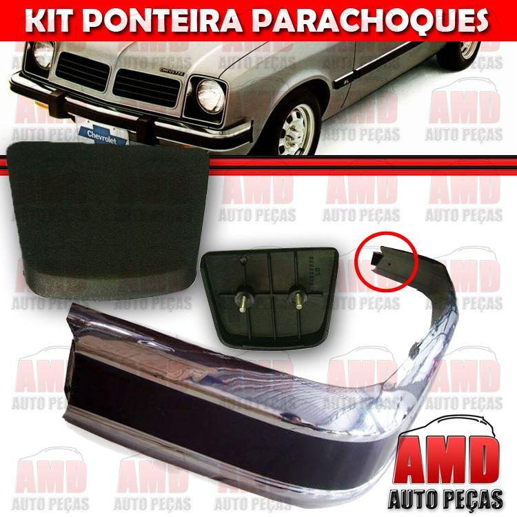 Kit Ponteira Parachoque Dianteira Chevette Marajó 80 a 82 (2 Unidades)