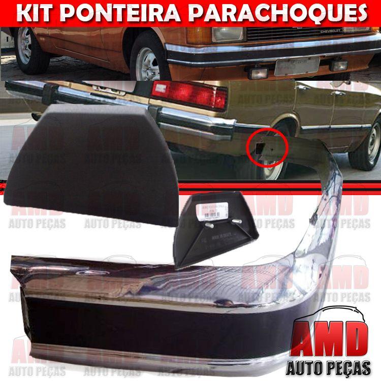 Kit Ponteira Dianteira e Traseira Opala Caravan 79 a 84  - Amd Auto Peças
