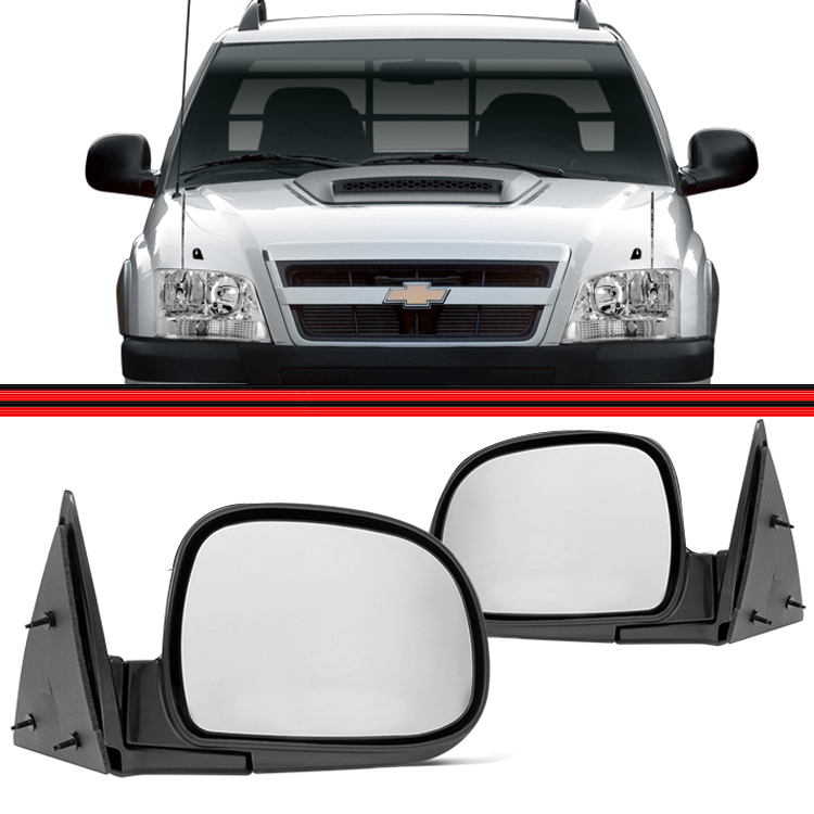 Retrovisor Espelho S10 Blazer 95 A 05 Manual  - Amd Auto Pe�as