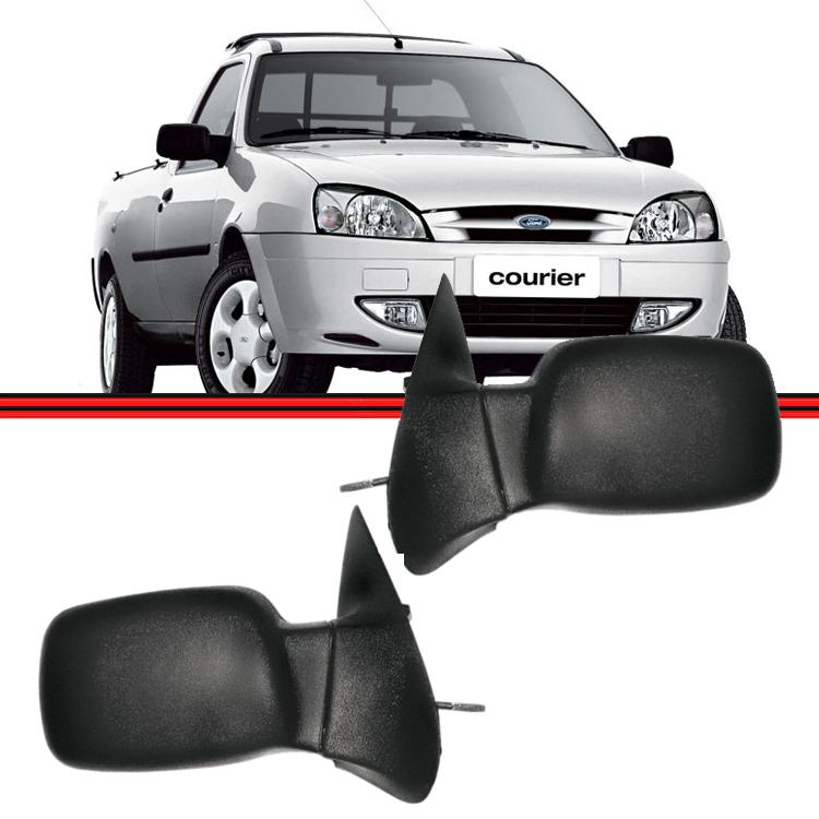 Retrovisor Espelho Courier 96 A 14 Com Controle  - Amd Auto Peças