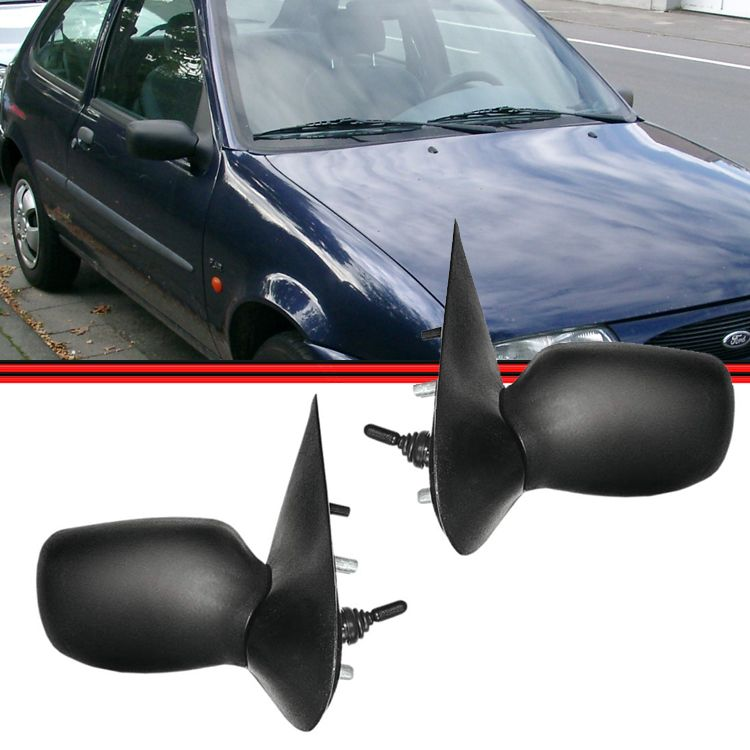 Retrovisor Espelho Fiesta 96 á 02 Com Controle  - Amd Auto Peças