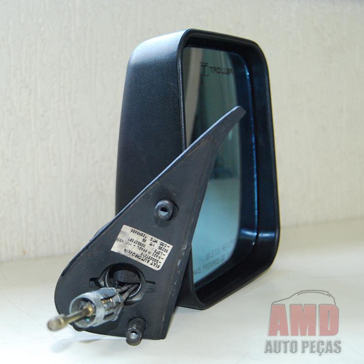 Retrovisor Espelho Fiorino 97 a 10 Com Controle  - Amd Auto Peças