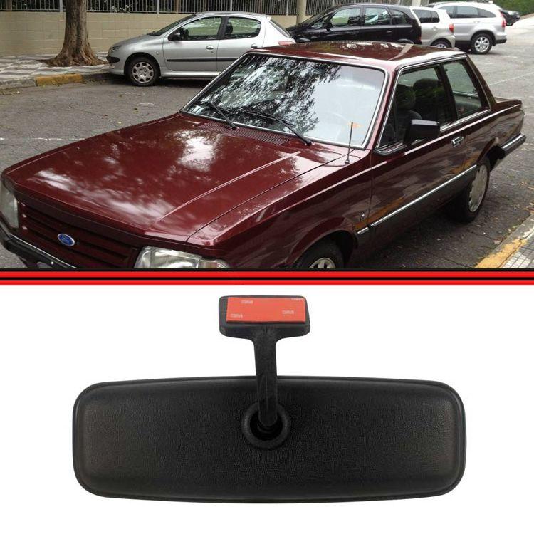 Retrovisor Interno Corcel Belina Del Rey Universal Plano Carros  - Amd Auto Pe�as