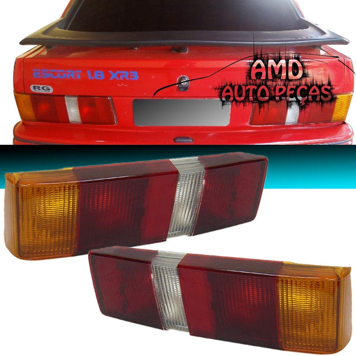 Lanterna Traseira Escort Hobby L Gl Xr3 87 a 92  - Amd Auto Peças