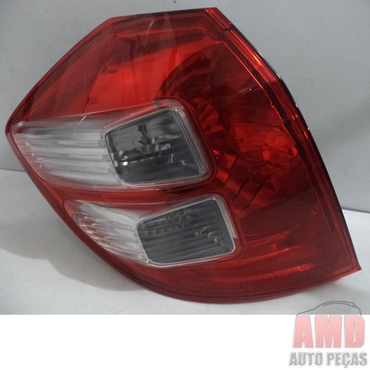 Lanterna Traseira New Fit 08 a 12  - Amd Auto Peças