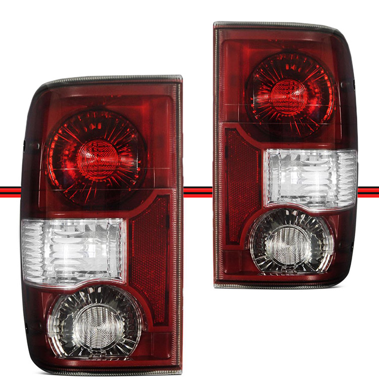 Lanterna Traseira Ranger 04 a 12 Fumê  - Amd Auto Peças